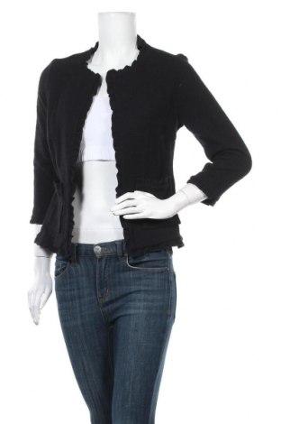 Дамско сако Cream, Размер S, Цвят Черен, Цена 17,85лв.