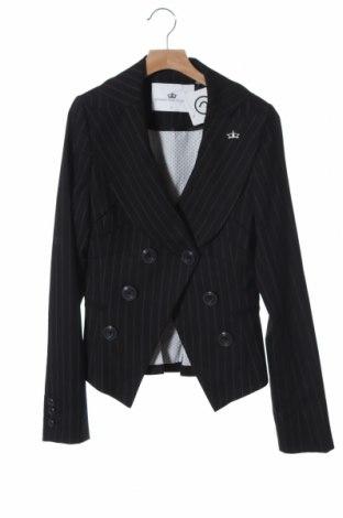 Дамско сако Designers Remix, Размер XS, Цвят Черен, 97% вълна, 3% еластан, Цена 50,25лв.