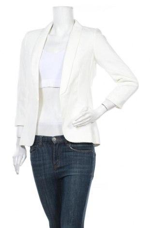 Дамско сако H&M, Размер S, Цвят Бял, 92% полиестер, 8% еластан, Цена 29,40лв.