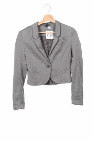 Γυναικείο σακάκι H&M Divided, Μέγεθος XS, Χρώμα Γκρί, Τιμή 14,94€