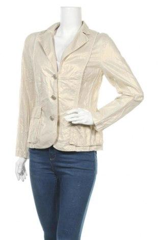 Дамско сако Hauber, Размер M, Цвят Златист, 98% памук, 2% еластан, Цена 6,83лв.