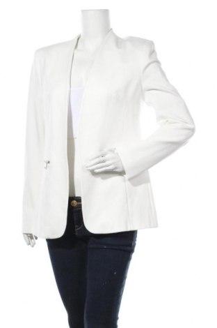 Дамско сако Karl Lagerfeld, Размер L, Цвят Бял, 60% вискоза, 35% полиамид, 5% еластан, Цена 269,25лв.
