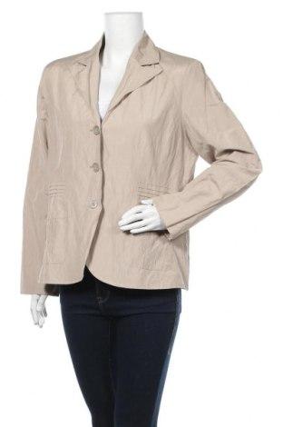 Дамско сако Kingfield, Размер XL, Цвят Бежов, 60% полиестер, 33% памук, 7% метални нишки, Цена 10,29лв.