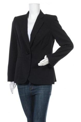 Дамско сако Marks & Spencer, Размер XL, Цвят Черен, 63% полиестер, 33% вискоза, 4% еластан, Цена 27,30лв.