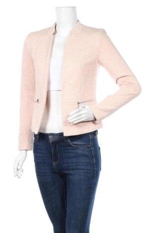 Дамско сако ONLY, Размер XS, Цвят Розов, 55% памук, 45% полиестер, Цена 33,60лв.