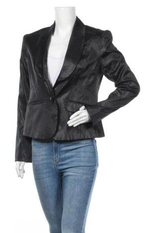Дамско сако Orsay, Размер M, Цвят Черен, 47% памук, 45% полиестер, 6% метални нишки, 2% еластан, Цена 22,05лв.