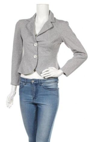 Дамско сако Rinascimento, Размер M, Цвят Сив, 68% памук, 30% полиамид, 2% еластан, Цена 48,00лв.