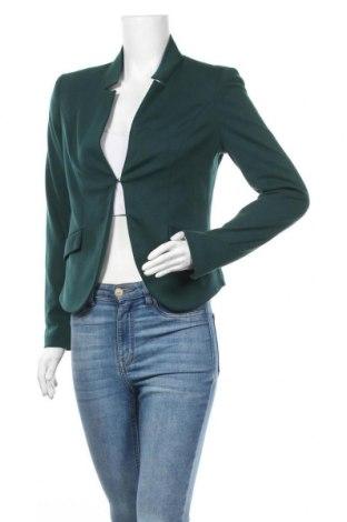 Γυναικείο σακάκι Susy Mix, Μέγεθος M, Χρώμα Πράσινο, 82% πολυεστέρας, 15% βισκόζη, 3% ελαστάνη, Τιμή 12,15€
