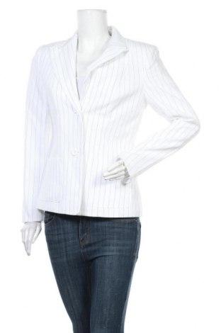 Дамско сако Trend, Размер M, Цвят Бял, 97% полиестер, 3% вискоза, Цена 39,69лв.