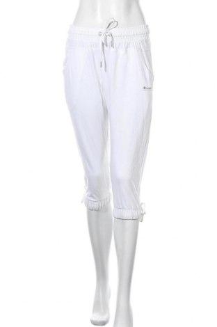 Γυναικείο αθλητικό παντελόνι Champion, Μέγεθος M, Χρώμα Λευκό, Βαμβάκι, Τιμή 20,63€