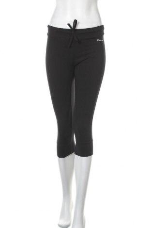 Γυναικείο αθλητικό παντελόνι Champion, Μέγεθος S, Χρώμα Μαύρο, 90% βαμβάκι, 10% ελαστάνη, Τιμή 20,63€