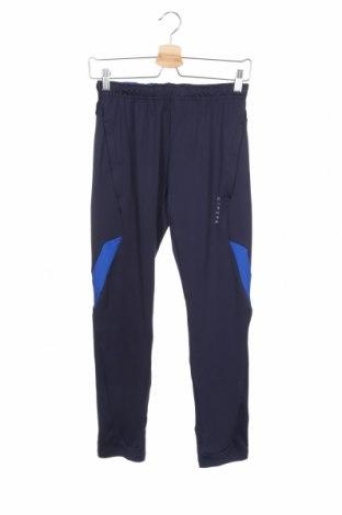 Дамско спортно долнище Decathlon, Размер XS, Цвят Син, Цена 22,94лв.
