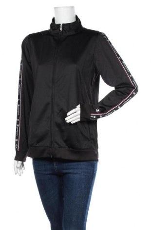 Γυναικεία αθλητική ζακέτα Champion, Μέγεθος XL, Χρώμα Μαύρο, Πολυεστέρας, Τιμή 26,61€