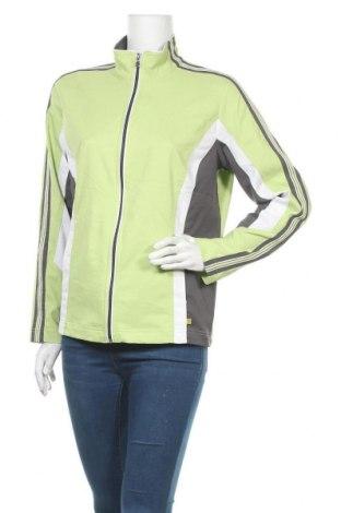 Дамско спортно горнище Made for life, Размер L, Цвят Зелен, Полиестер, Цена 16,80лв.