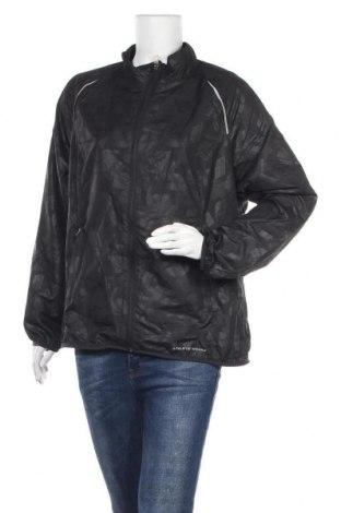 Γυναικείο μπουφάν αθλητικό Athletic Works, Μέγεθος XL, Χρώμα Μαύρο, Πολυεστέρας, Τιμή 25,92€