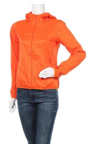 Дамско спортно яке Uniqlo, Размер S, Цвят Оранжев, Полиестер, Цена 33,92лв.