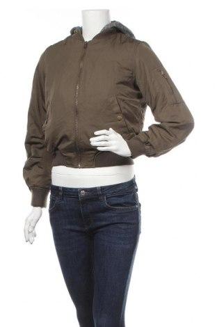 Дамско яке Active Basic USA, Размер S, Цвят Зелен, Полиестер, памук, Цена 10,58лв.