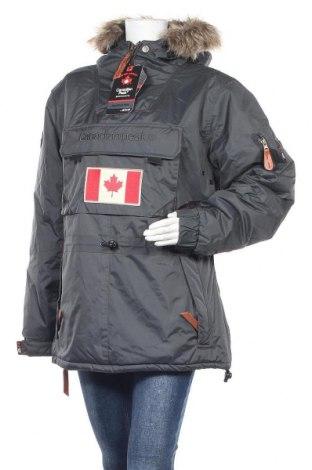 Дамско яке Canadian Peak, Размер XL, Цвят Сив, Полиестер, Цена 329,00лв.