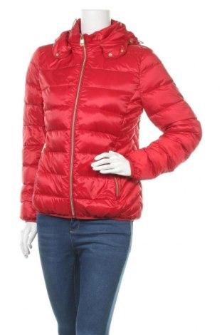 Dámská bunda  Christian Berg, Velikost M, Barva Červená, Polyester, peří, Cena  1502,00Kč