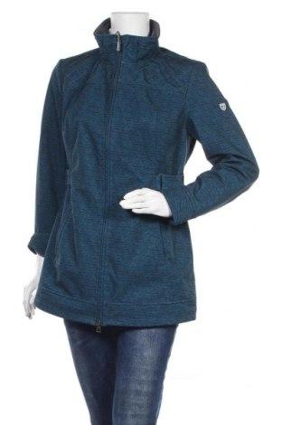 Γυναικείο μπουφάν Collection L, Μέγεθος M, Χρώμα Μπλέ, 94% πολυεστέρας, 6% ελαστάνη, Τιμή 21,30€