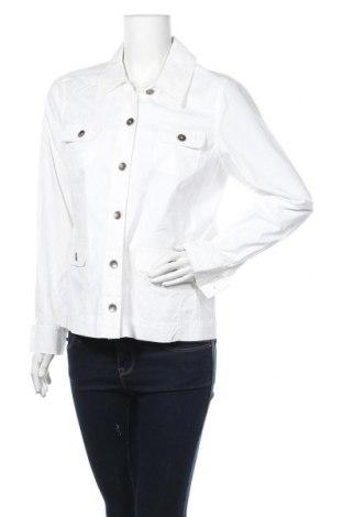 Γυναικείο μπουφάν Collection L, Μέγεθος L, Χρώμα Λευκό, Βαμβάκι, Τιμή 9,06€