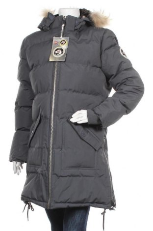 Geacă de femei Geographical Norway, Mărime XL, Culoare Gri, Poliamidă, Preț 327,40 Lei