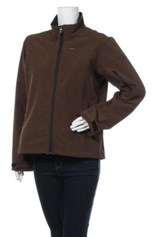 Γυναικείο μπουφάν Icepeak, Μέγεθος L, Χρώμα Καφέ, 94% πολυεστέρας, 6% ελαστάνη, Τιμή 12,50€