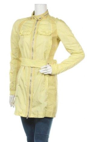 Дамско яке Patrizia Pepe, Размер XL, Цвят Жълт, 60% полиамид, 40% естествена кожа, Цена 57,96лв.
