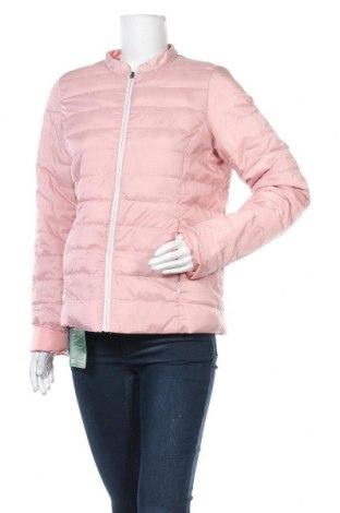 Дамско яке Up 2 Fashion, Размер S, Цвят Розов, Полиестер, Цена 28,88лв.