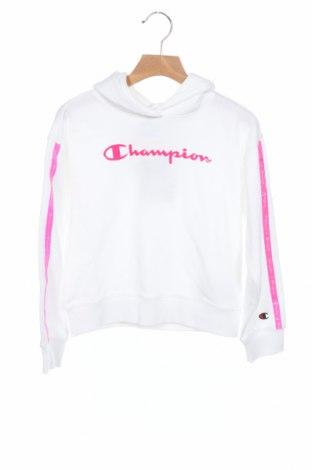 Παιδικό φούτερ Champion, Μέγεθος 7-8y/ 128-134 εκ., Χρώμα Λευκό, 60% βαμβάκι, 40% πολυεστέρας, Τιμή 15,54€