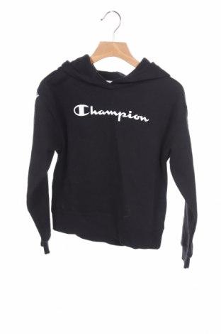 Παιδικό φούτερ Champion, Μέγεθος 7-8y/ 128-134 εκ., Χρώμα Μαύρο, 60% βαμβάκι, 40% πολυεστέρας, Τιμή 15,54€