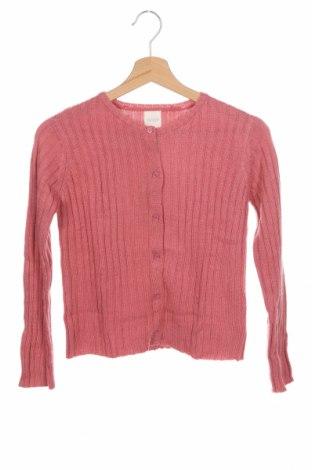 Παιδική ζακέτα Gocco, Μέγεθος 8-9y/ 134-140 εκ., Χρώμα Ρόζ , 53%ακρυλικό, 26% πολυαμίδη, 13% μαλλί, 8% μοχαίρ, Τιμή 8,95€