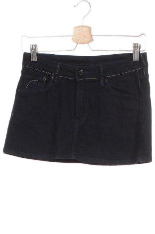 Παιδική φούστα H&M, Μέγεθος 12-13y/ 158-164 εκ., Χρώμα Μπλέ, 98% βαμβάκι, 2% ελαστάνη, Τιμή 8,18€