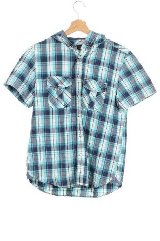 Детска риза H&M L.O.G.G., Размер 14-15y/ 168-170 см, Цвят Син, Памук, Цена 18,90лв.