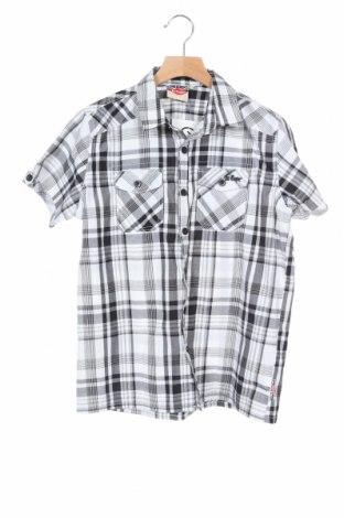 Детска риза Lee Cooper, Размер 11-12y/ 152-158 см, Цвят Бял, 65% полиестер, 35% памук, Цена 10,88лв.