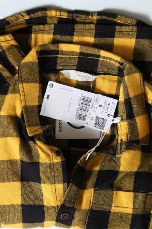 Παιδικό πουκάμισο Mango, Μέγεθος 6-7y/ 122-128 εκ., Χρώμα Κίτρινο, Βαμβάκι, Τιμή 18,44€