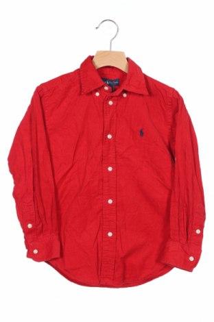 Παιδικό πουκάμισο Polo By Ralph Lauren, Μέγεθος 6-7y/ 122-128 εκ., Χρώμα Κόκκινο, Βαμβάκι, Τιμή 14,84€