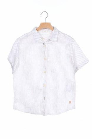 Παιδικό πουκάμισο Zara Kids, Μέγεθος 7-8y/ 128-134 εκ., Χρώμα Λευκό, 52% βαμβάκι, 48% λινό, Τιμή 13,46€