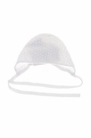 Детска шапка Paz Rodriguez, Цвят Бял, Памук, Цена 17,15лв.
