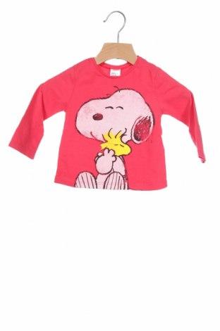 Παιδική μπλούζα αθλητική Zara Kids, Μέγεθος 9-12m/ 74-80 εκ., Χρώμα Ρόζ , Βαμβάκι, Τιμή 10,51€