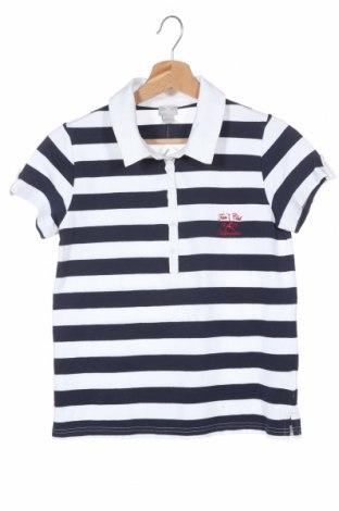 Παιδικό μπλουζάκι Cyrillus, Μέγεθος 12-13y/ 158-164 εκ., Χρώμα Μπλέ, 95% βαμβάκι, 5% ελαστάνη, Τιμή 11,04€