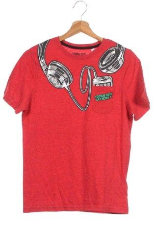 Παιδικό μπλουζάκι Here+There, Μέγεθος 12-13y/ 158-164 εκ., Χρώμα Κόκκινο, 60% βαμβάκι, 40% πολυεστέρας, Τιμή 10,52€