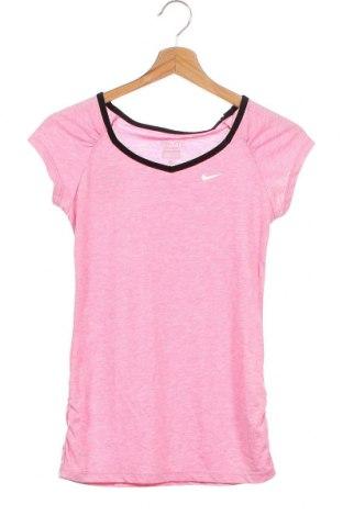 Παιδικό μπλουζάκι Nike, Μέγεθος 11-12y/ 152-158 εκ., Χρώμα Ρόζ , 85% πολυεστέρας, 15% βαμβάκι, Τιμή 9,26€
