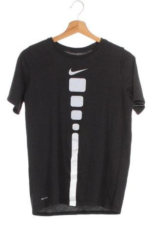 Παιδικό μπλουζάκι Nike, Μέγεθος XLy, Χρώμα Μαύρο, 60% βαμβάκι, 40% πολυεστέρας, Τιμή 17,54€