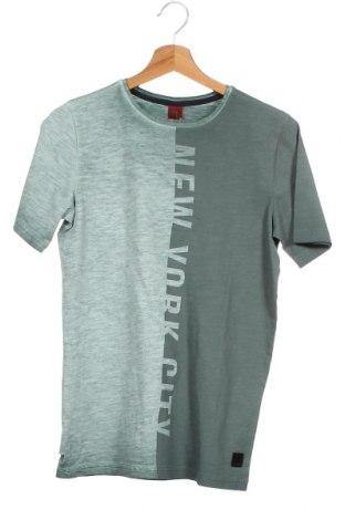Παιδικό μπλουζάκι S.Oliver, Μέγεθος 12-13y/ 158-164 εκ., Χρώμα Πράσινο, Βαμβάκι, Τιμή 13,67€