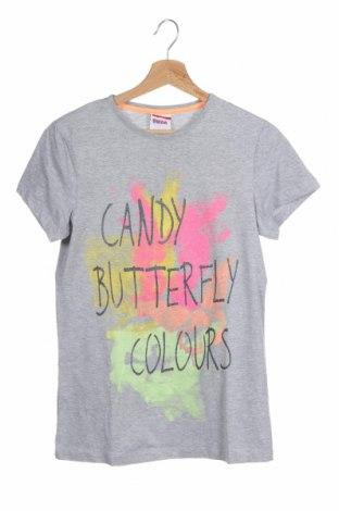 Παιδικό μπλουζάκι Yigga, Μέγεθος 15-18y/ 170-176 εκ., Χρώμα Γκρί, 88% βαμβάκι, 12% πολυεστέρας, Τιμή 14,03€