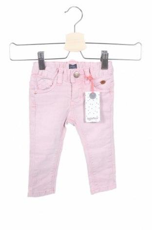 Παιδικά τζίν, Μέγεθος 9-12m/ 74-80 εκ., Χρώμα Ρόζ , 98% βαμβάκι, 2% ελαστάνη, Τιμή 18,22€