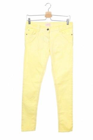 Παιδικά τζίν Alive, Μέγεθος 12-13y/ 158-164 εκ., Χρώμα Κίτρινο, 97% βαμβάκι, 3% ελαστάνη, Τιμή 9,71€