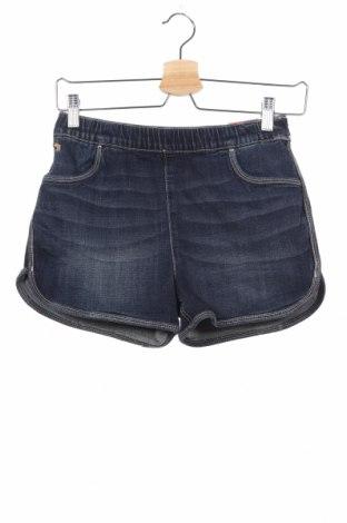 Παιδικό κοντό παντελόνι Abercrombie Kids, Μέγεθος 13-14y/ 164-168 εκ., Χρώμα Μπλέ, 62% βαμβάκι, 21% μοντάλ, 16% lyocell, 1% ελαστάνη, Τιμή 31,82€