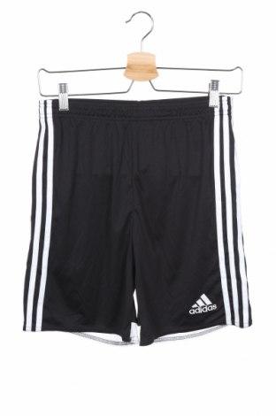 Παιδικό κοντό παντελόνι Adidas, Μέγεθος 13-14y/ 164-168 εκ., Χρώμα Μαύρο, Πολυεστέρας, Τιμή 37,67€